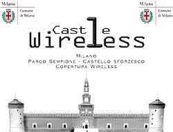 CastleWireless - Wireless Gratuito al Parco Sempione - Milano - Sponsor Comune di Milano