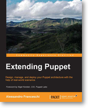 Cover Extending Puppet by Alessandro Franceschi, Packt Publishing