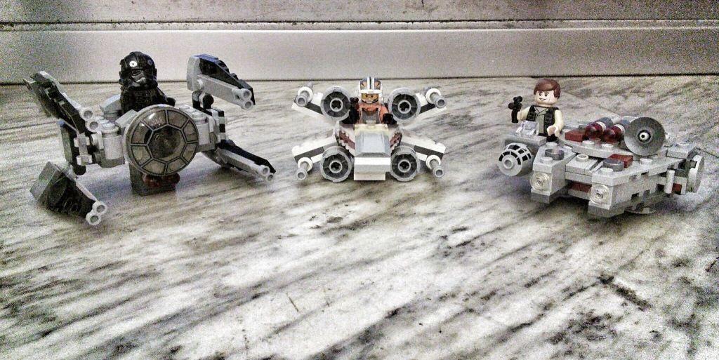 Lego Star Wars Microfighter Parte 1