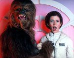 Star Wars The Director\'s Cut - Leia and Chewbacca