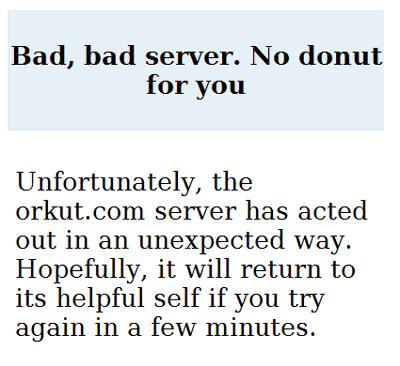Bad, bad server